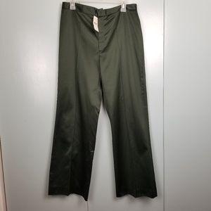 Banana Republic green olive dress pants sz 12 -C9